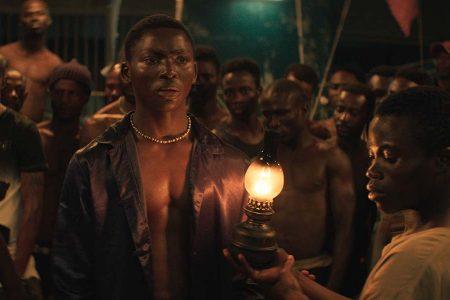 "Koné Bakary as Roman in ""Night of Kings."" (Image courtesy of La nuit des rois / TIFF)"