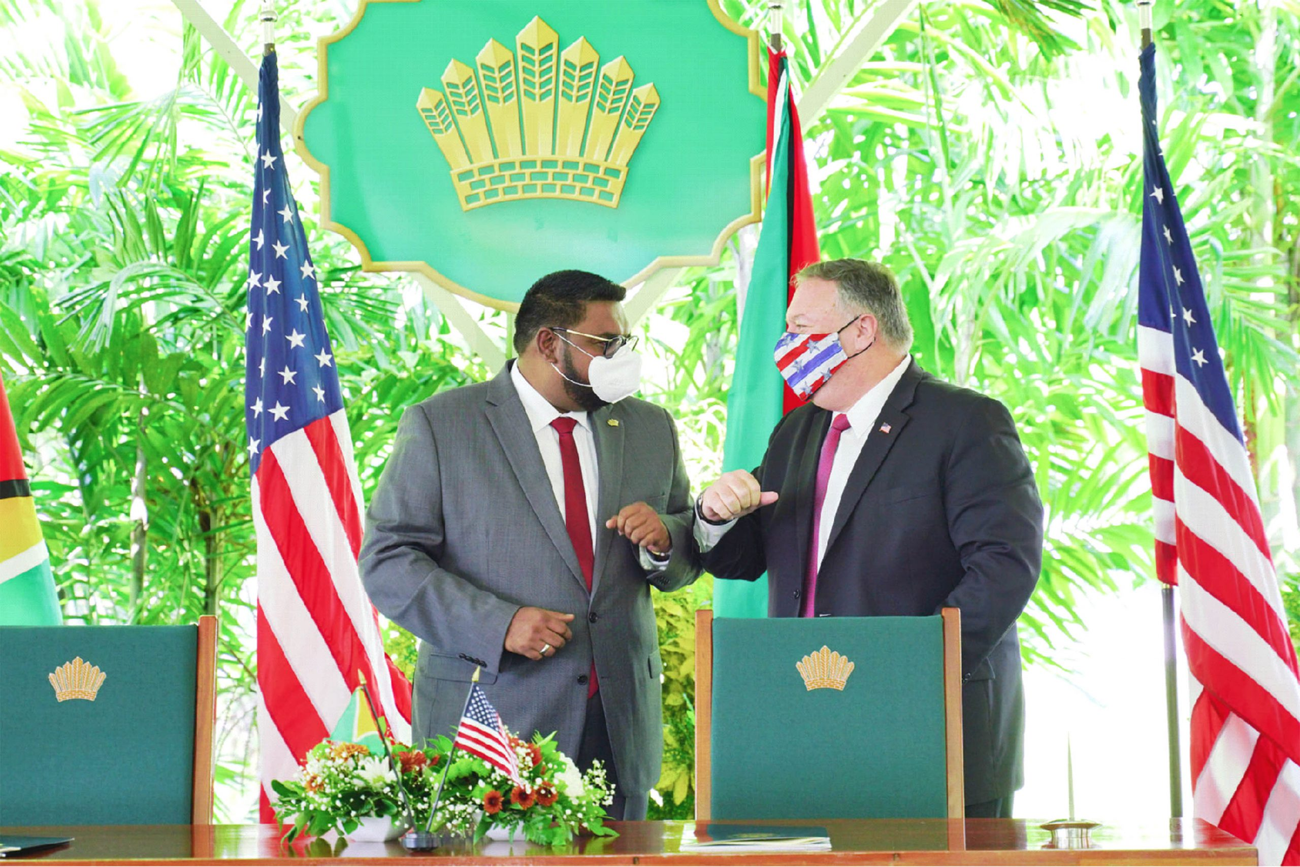 Guyana, US ink pact for private sector investment in infrastructure