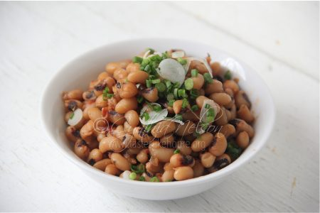 Boiled Black-eye Peas (Photo by Cynthia Nelson)