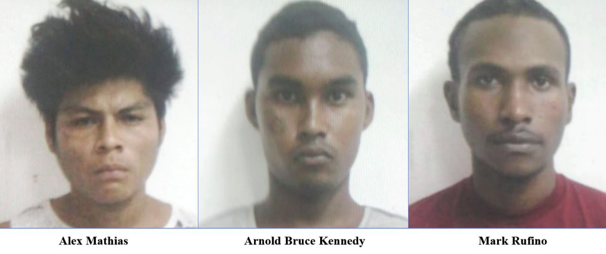 Two murder accused who fled Lusignan Prison recaptured - -hunt on for third