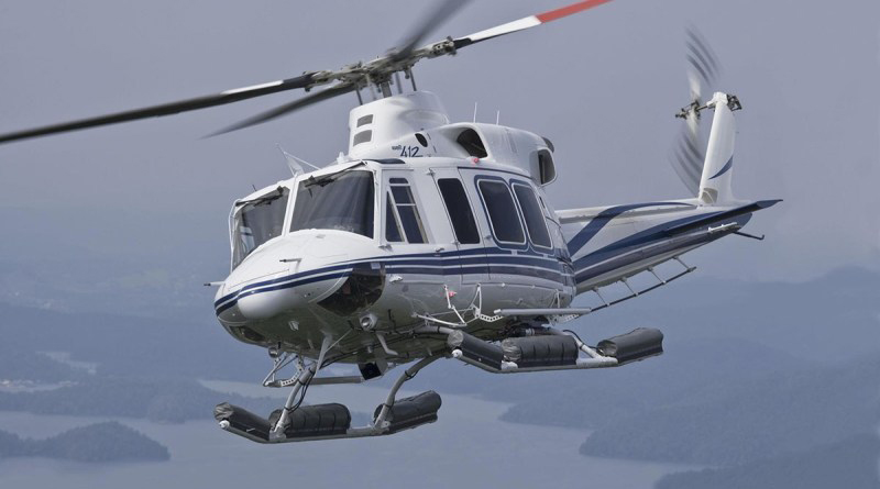 A Bell 412EPi helicopter (Photo taken from Defpost.com/October 31, 2020)