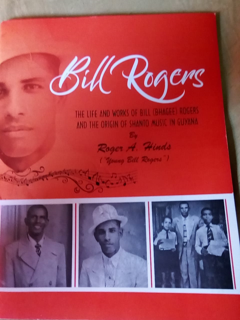 The cover of the Bill Rogers autobiography