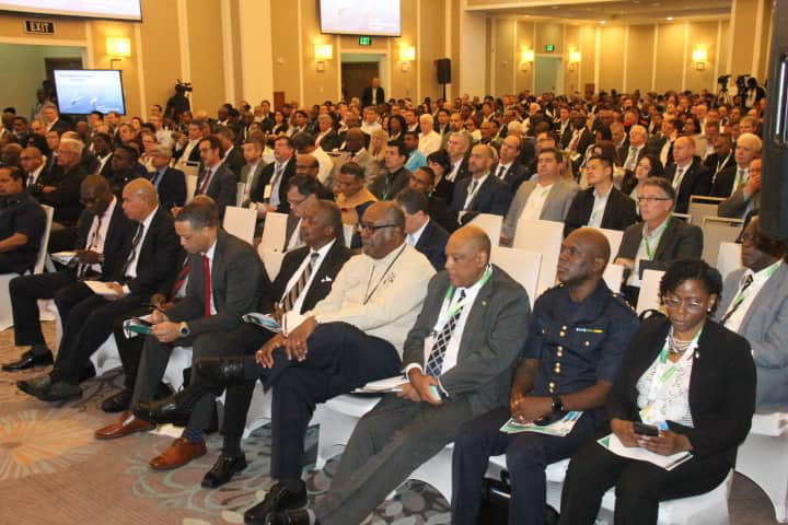 Attendees at the second annual Guyana International Petroleum Business Summit & Exhibition in November 2019