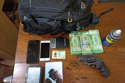 The items which were recovered in the possession of the suspect