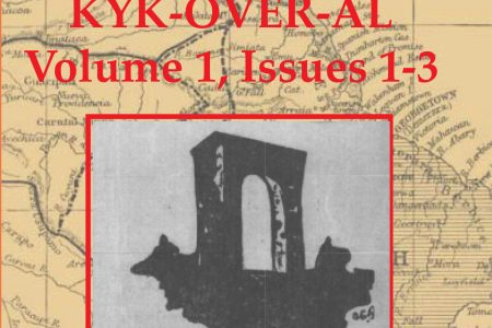The cover of the Guyana Classics Library's collection of the first three volumes of Kyk-Over-Al