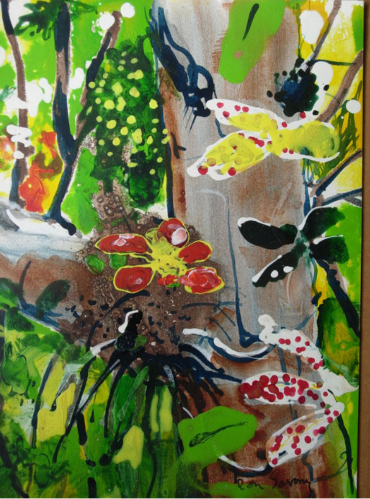 Rain Forest Wet Season by late Ron Savory