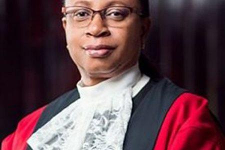 Chief Justice Roxane George-Wiltshire SC
