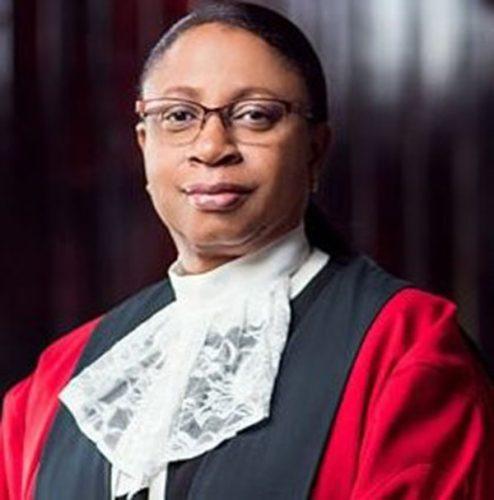 Acting Chief Justice Roxane George-Wiltshire SC