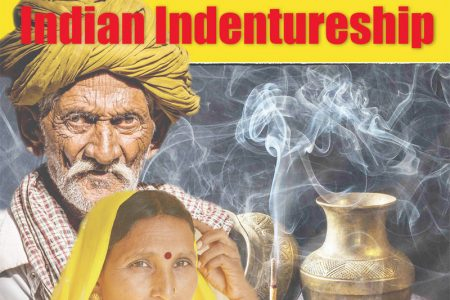 Cover of a special publication by Stabroek News in 2017 to mark the centenary of the end of Indian indentureship