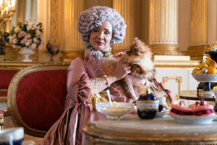 "Golda Rosheuvel in ""Bridgerton"" (Liam Daniel/Netflix photo)"