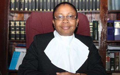 Chief Justice (Ag) Roxane George-Wiltshire SC