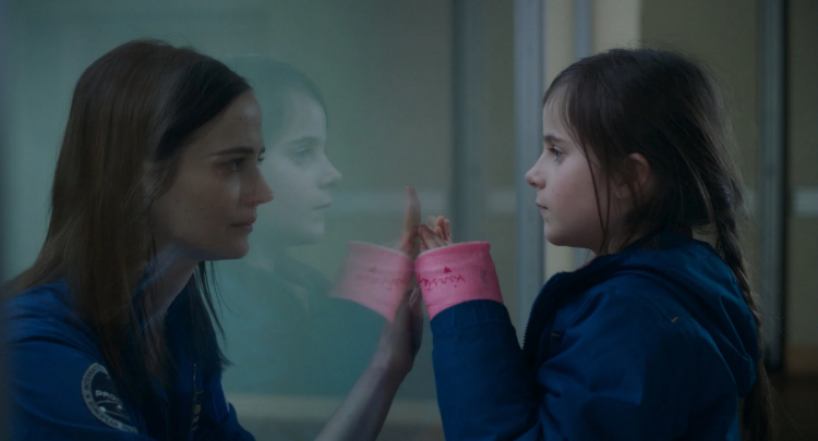 """Eva Green and Zélie Boulant-Lemesle in Alice Wincour's """"Proxima"""""""