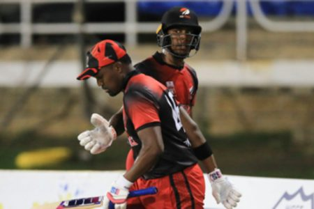 Darren Bravo has been appointed vice-captain but there is no room for Tion Webster (background).