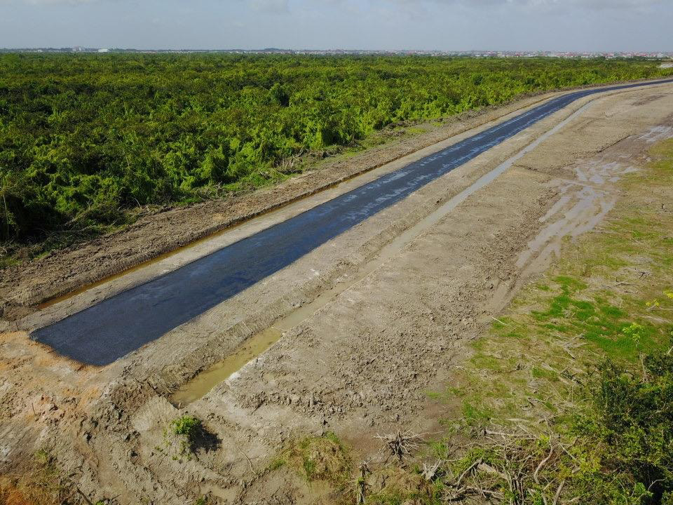 Diamond to Eccles bypass road nearing completion - Stabroek News