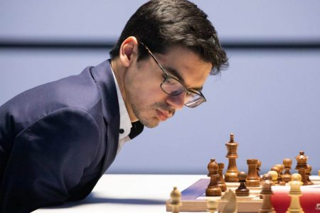 Anish Giri, winner of the Magnus Carlsen Invitational Chess Tournament. Giri qualified for the grandmaster title at 14 years, 7 months and 2 days and is the Dutch national chess champion. (Photo: Jurriaan Hoefsmit)