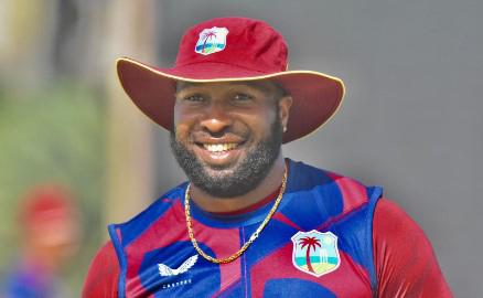 West Indies white-ball captain, Kieron Pollard.