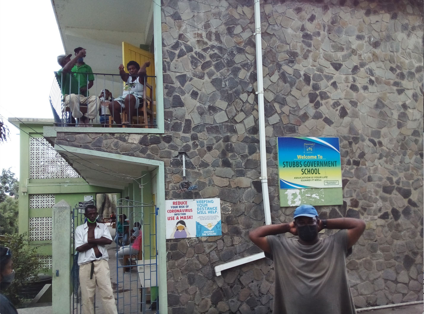 Care, love and learn in battle: The La Soufriere volcanic eruption in St.  Vincent