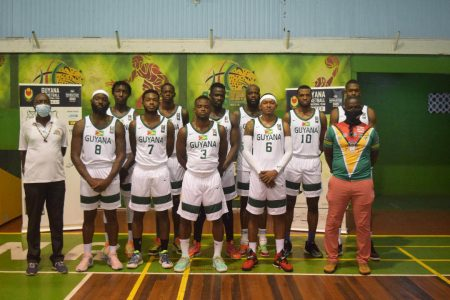 The Guyana Senior Men's Basketball Team will swing into action today in the FIBA basketball 2023 Olympic pre qualifiers in El Salvador.