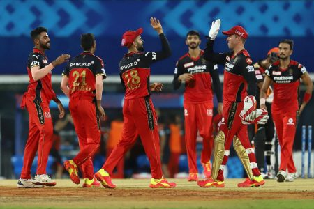 Royal Challengers Bangalore produced a monumental comeback with the ball as they beat Sunrisers Hyderabad by six runs to seal their second win on the bounce.
