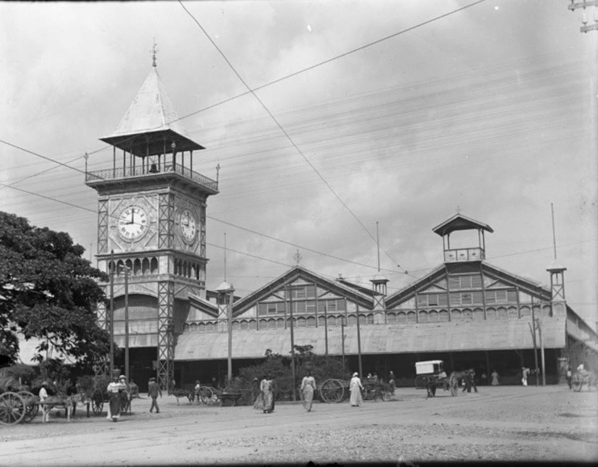 Stabroek Market: Location of the inciting incident
