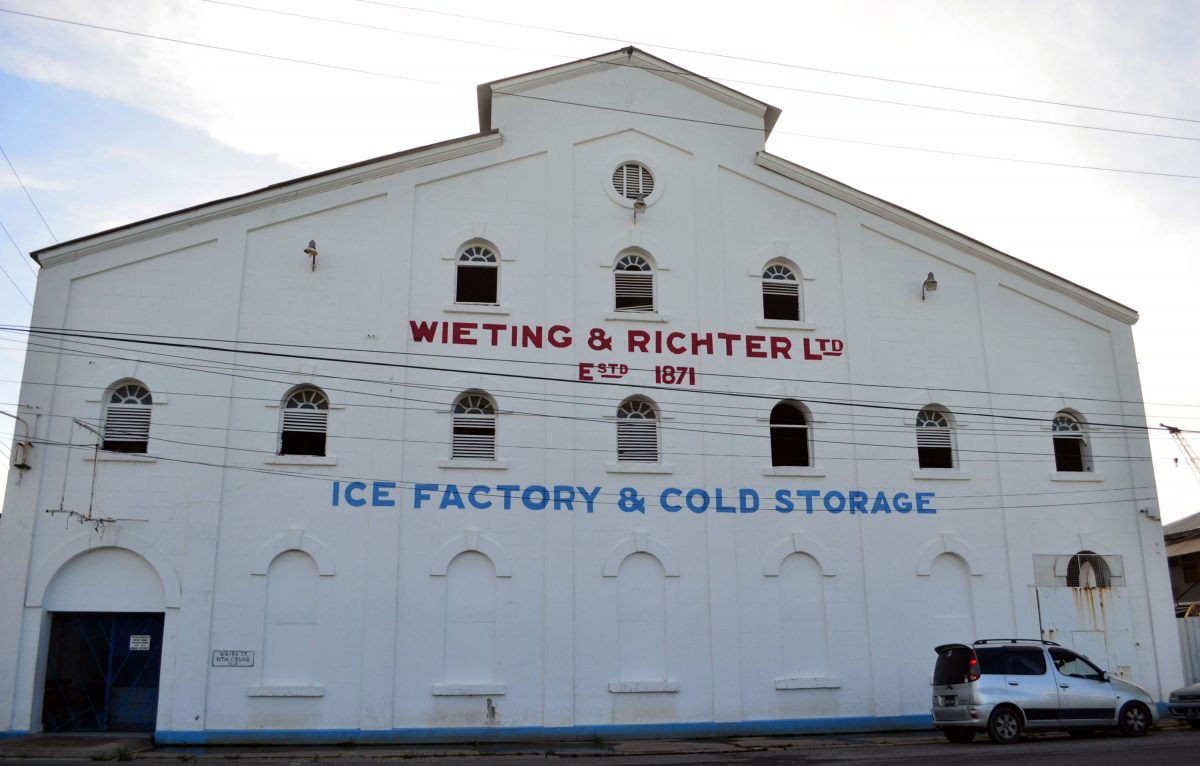 Wieting & Richter's Ice Factory & Cold Storage, established 150 years ago (Photo by Orlando Charles)