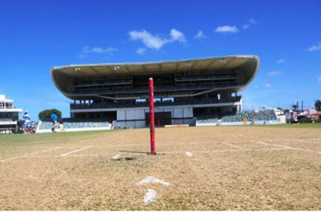 The Kensington Oval pitch has been blamed for the woeful batting performances of the West Indies team.
