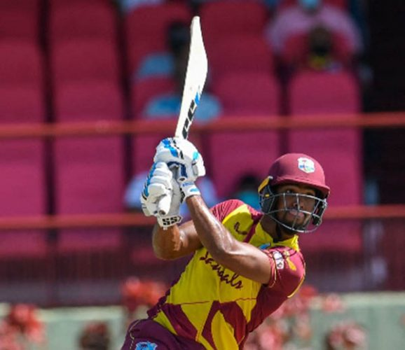 Nichoals Pooran was stranded on 62 not out