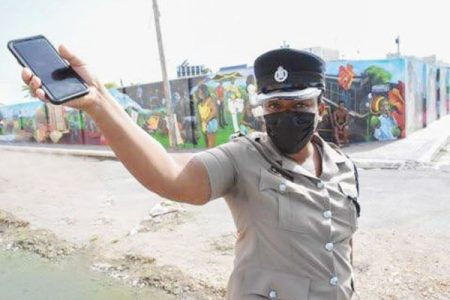 Superintendent Maldria Jones-Williams says the police have increased their presence in the Kingston Central constituency (Photos: Joseph Wellington)