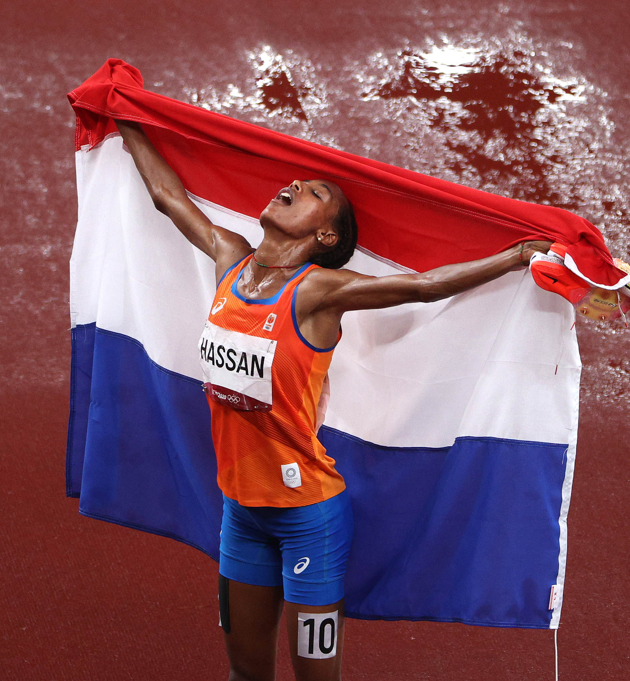 Hassan bags first gold, Kenya's steeplechase run ends