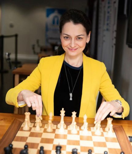 Russia's Grandmaster Aleksandra Kosteniuk helped her team reach the final of the 2021 Online Chess Olympiad by winning both of her games in the semi-final. (Photo: Maria Emelianova/Chess.com)