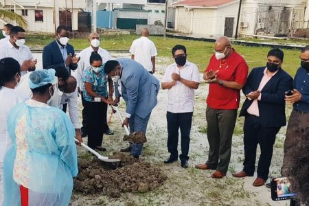 Ali turns sod for $2B Suddie Hospital: President Irfaan Ali on Friday turned the sod for a planned $2 billion Suddie multi-speciality hospital. Construction of the facility, which will be equipped with 250 beds, a new ICU and modern laboratories, is slated to begin in weeks.